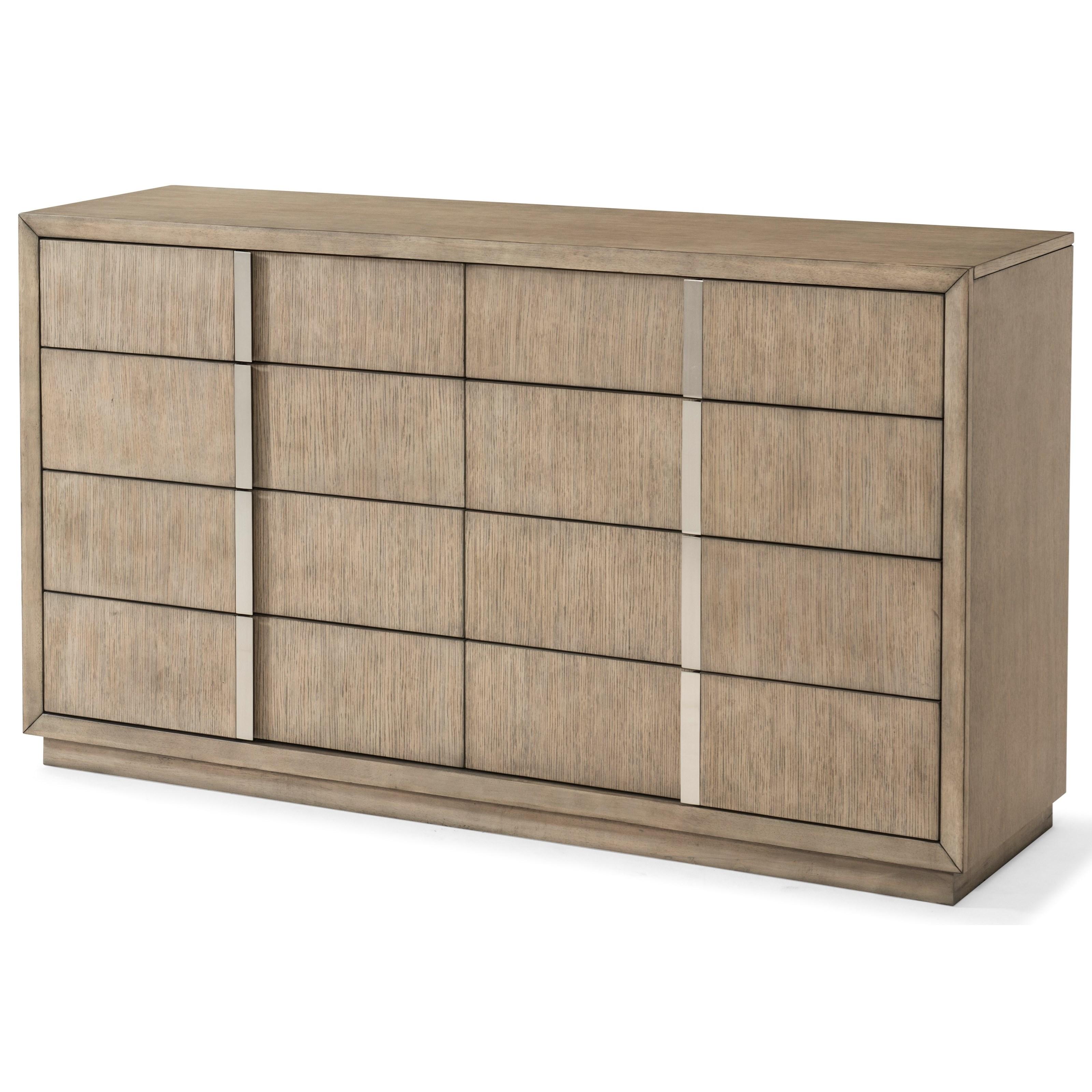 Melbourne 8 Drawer Dresser by Klaussner International at HomeWorld Furniture