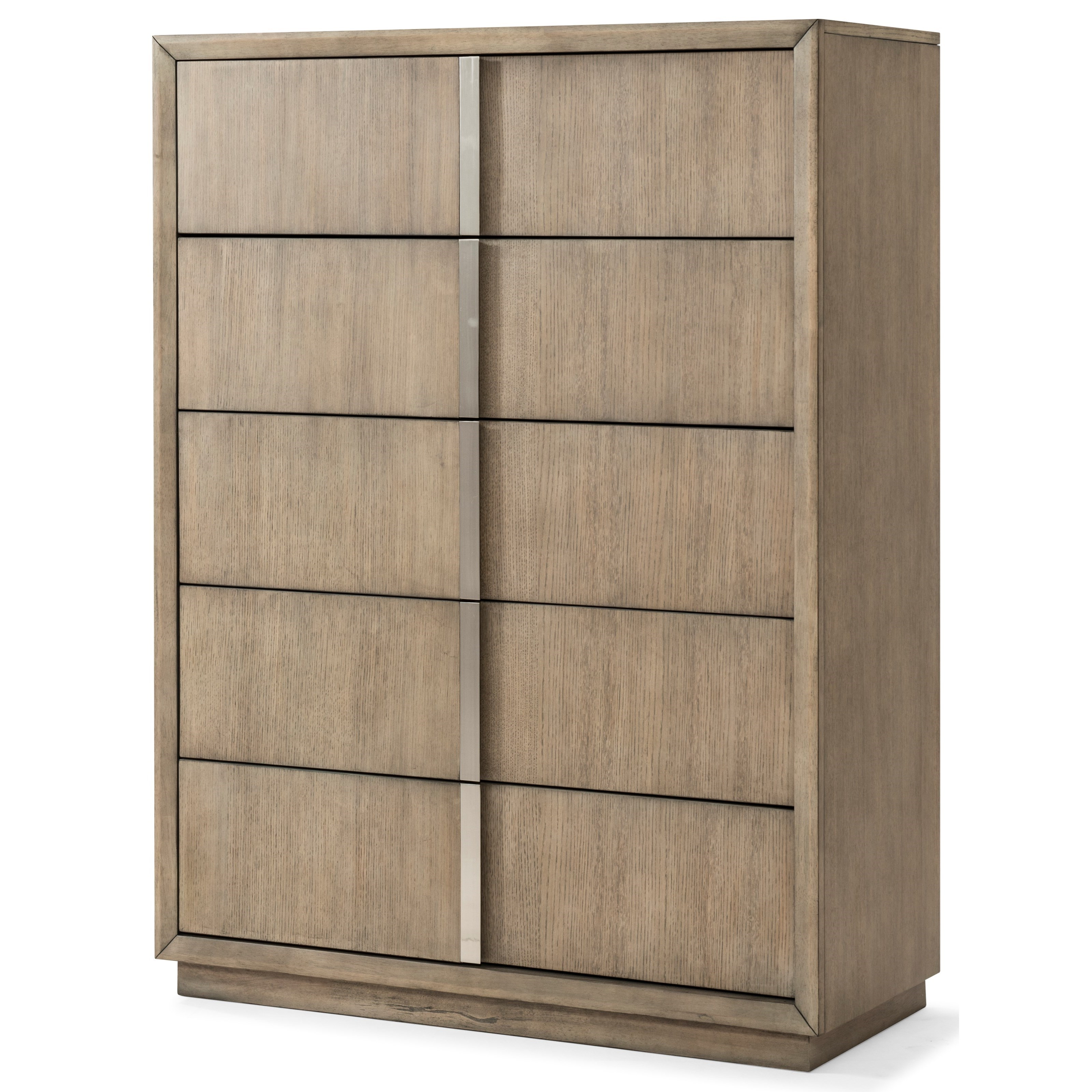 Melbourne 5 Drawer Chest by Klaussner International at HomeWorld Furniture