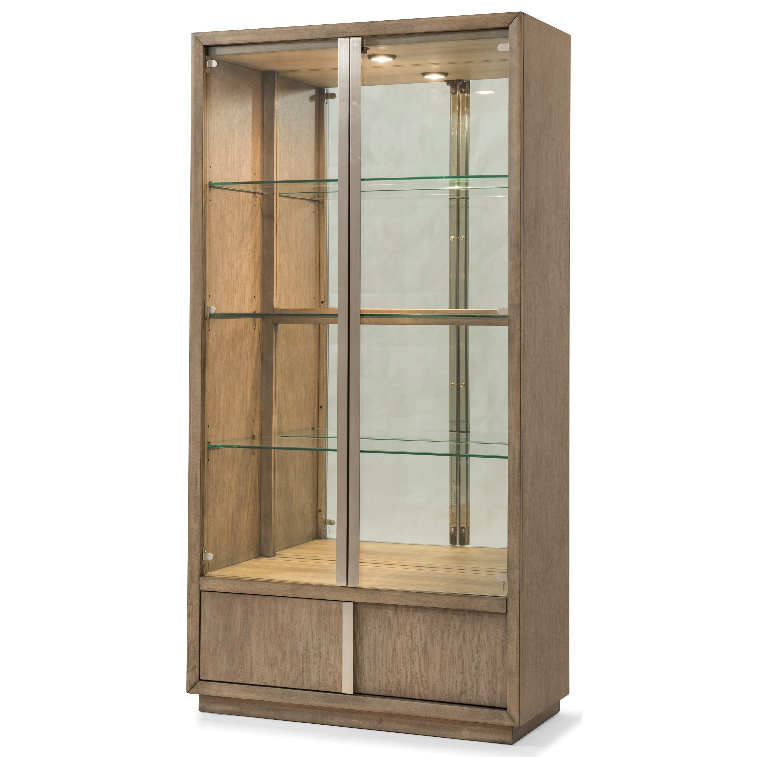 Melbourne Display Cabinet by Klaussner International at HomeWorld Furniture