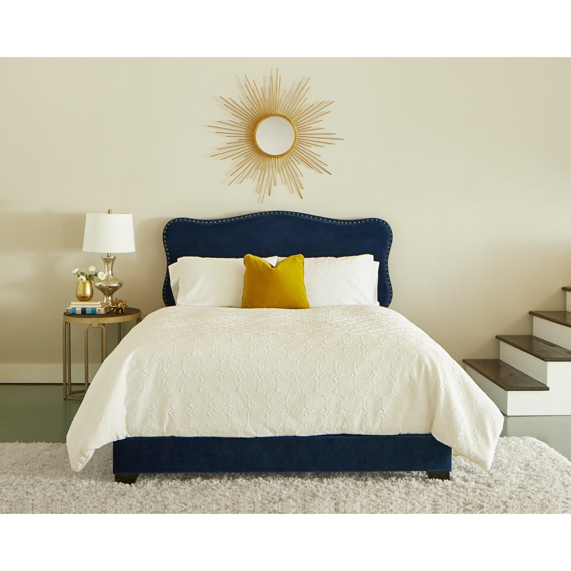 Possibilities - 283 Queen Upholstered Bed by Klaussner International at Northeast Factory Direct