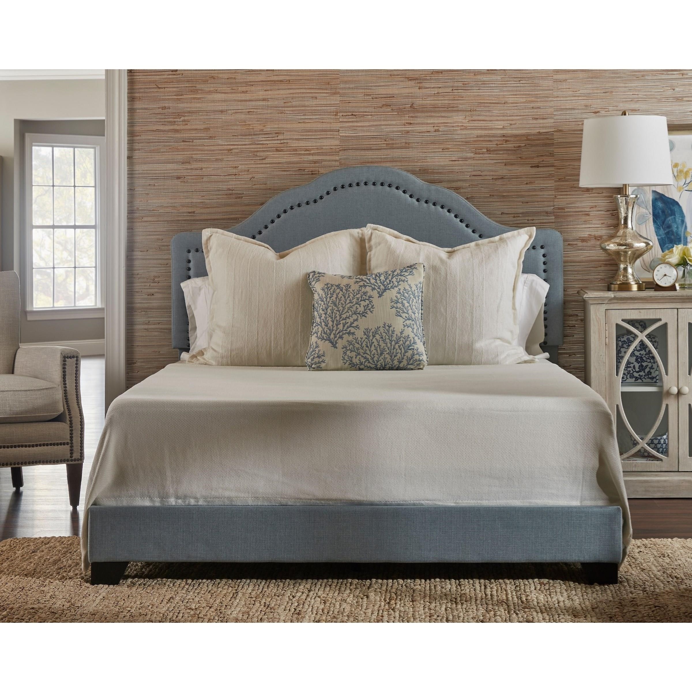 Possibilities - 298 Queen Upholstered Bed by Klaussner International at Catalog Outlet