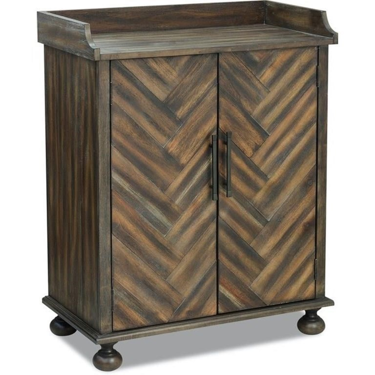 Possibilities - Accent Chests Bar Cabinet by Klaussner International at Northeast Factory Direct