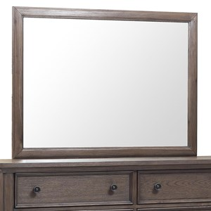 Relaxed Vintage Rectangular Dresser Mirror