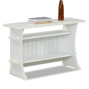 Sofa Table with 2 Shelves