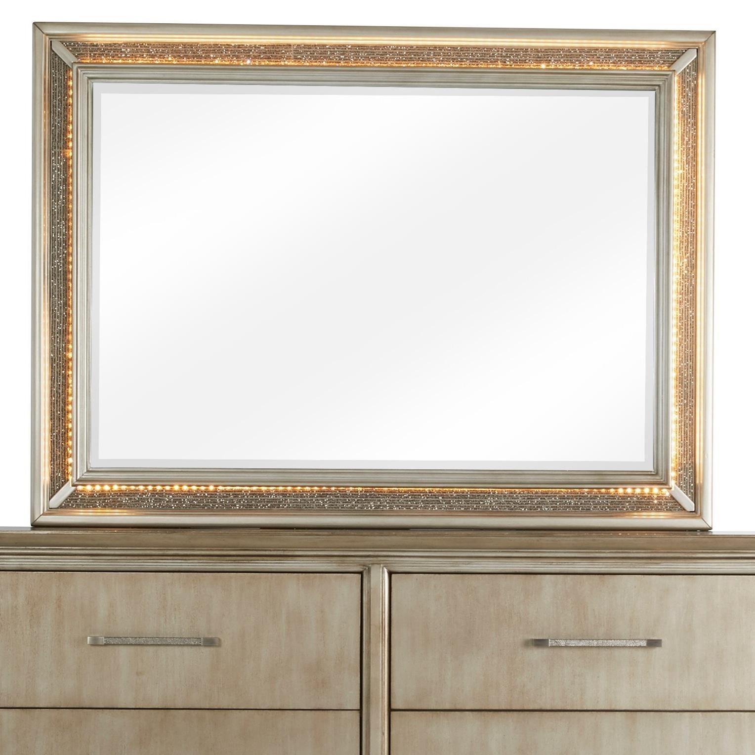 Sophia Mirror by Klaussner International at Beck's Furniture