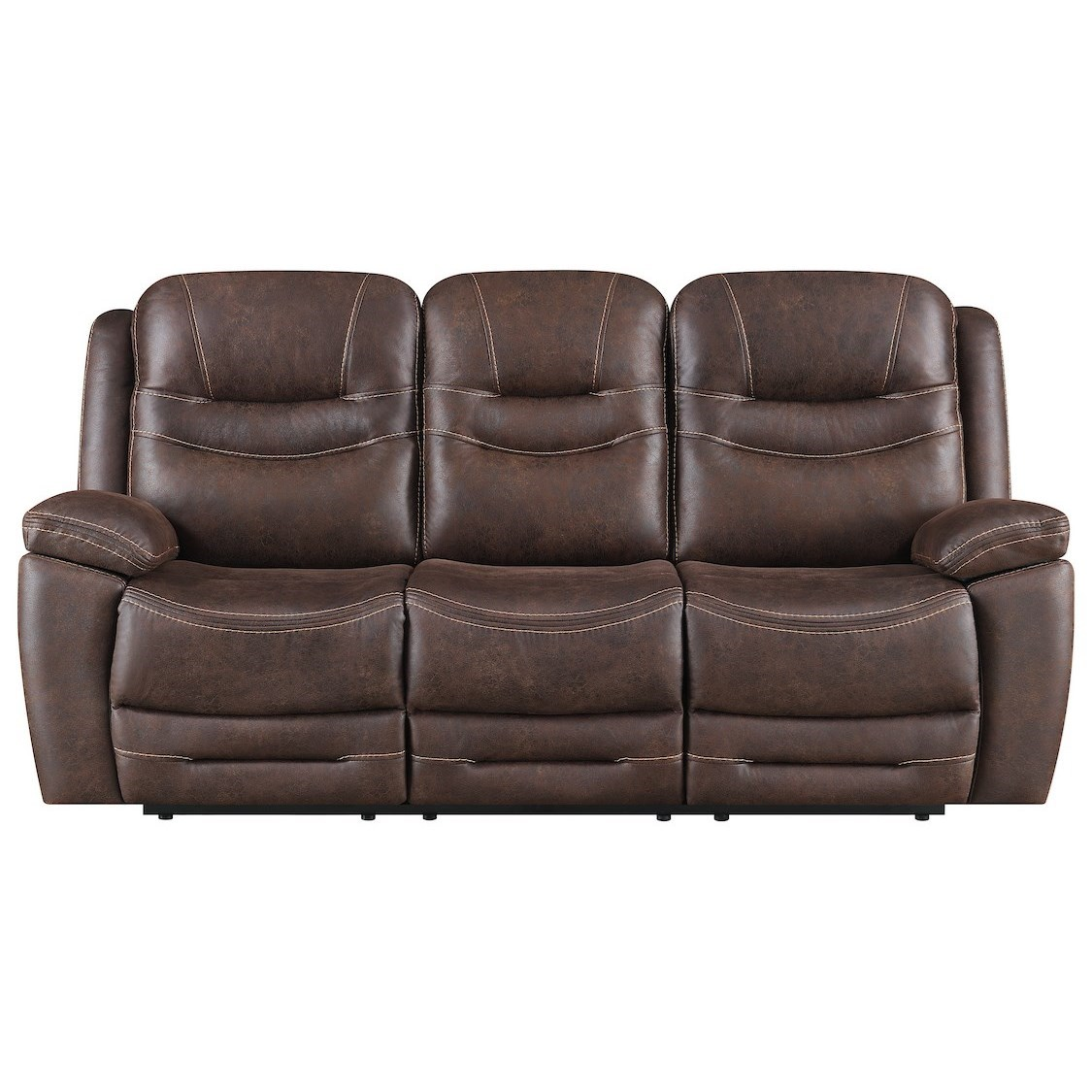 Turismo Power Reclining Sofa w/ Drop Down Table at Walker's Furniture