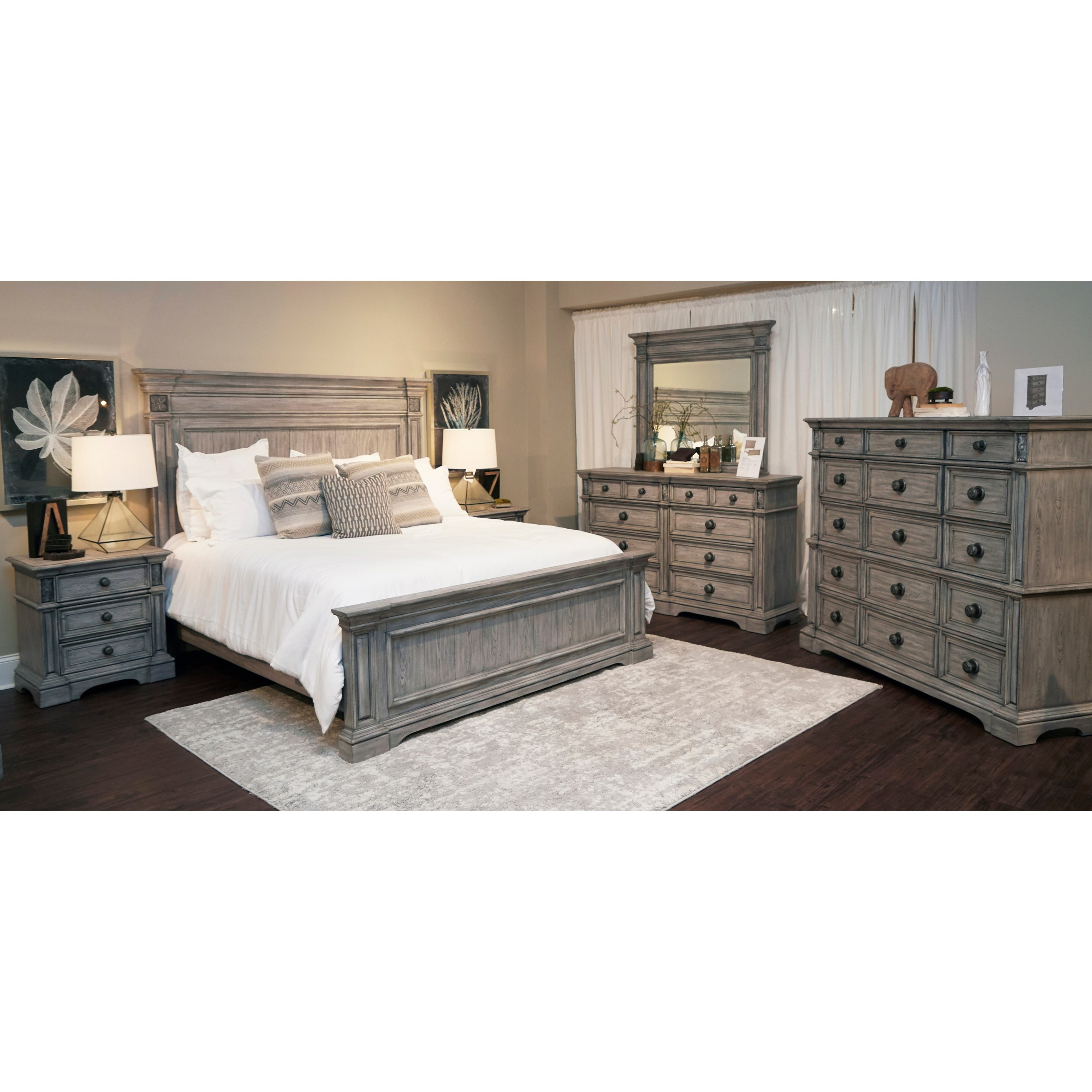 Windmere Queen Bedroom Group by Klaussner International at Northeast Factory Direct