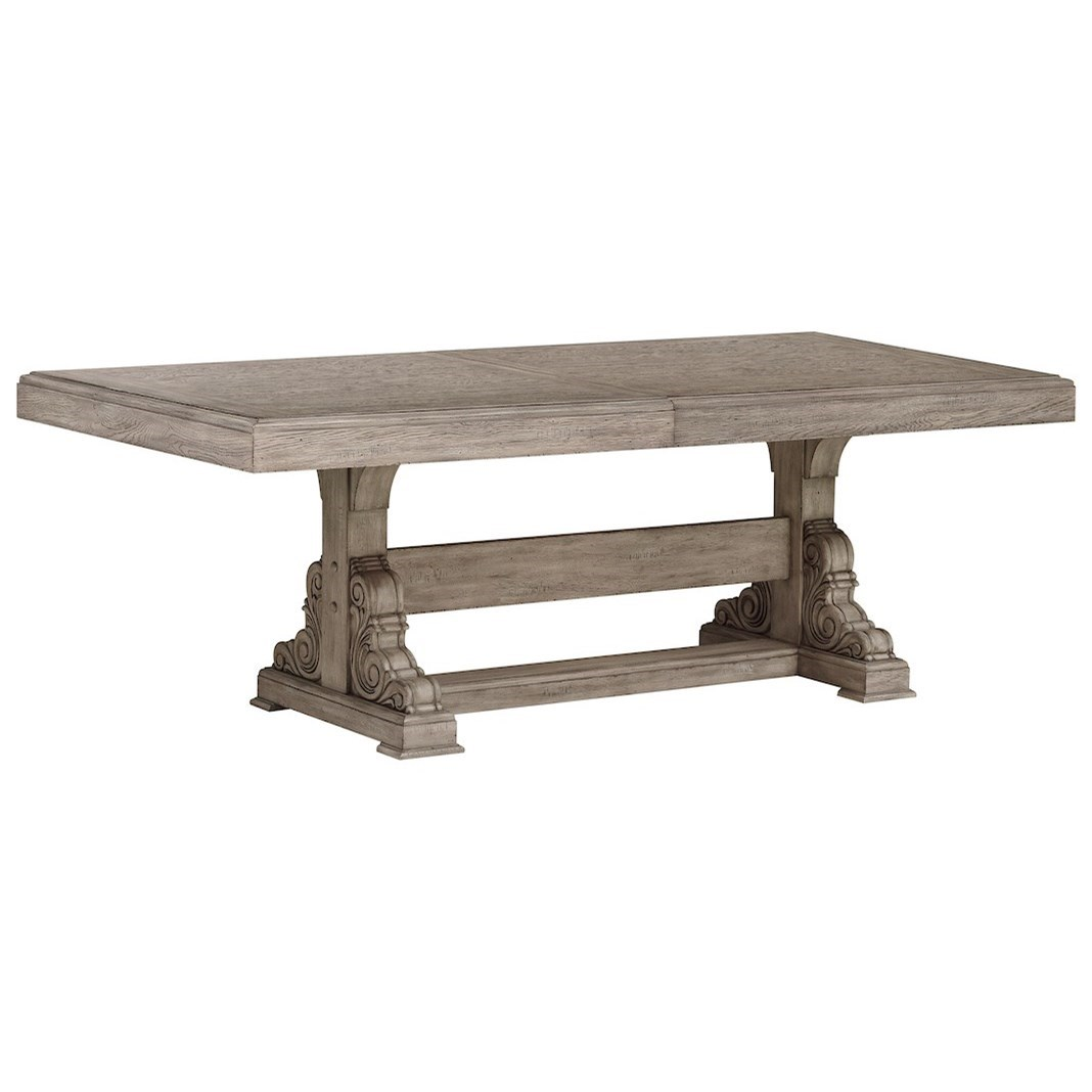Windmere Dining Room Table by Klaussner International at Darvin Furniture