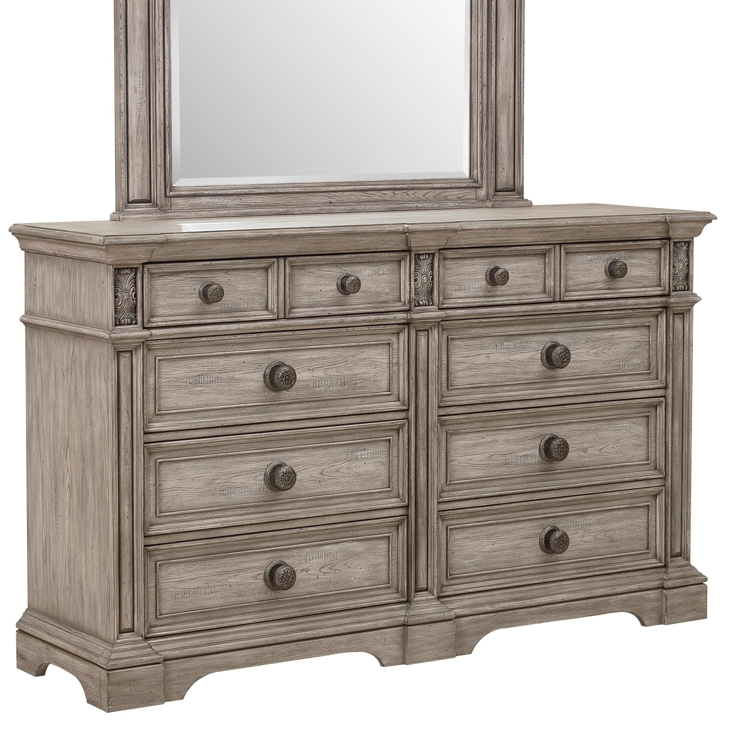 Windmere Dresser by Klaussner International at Darvin Furniture