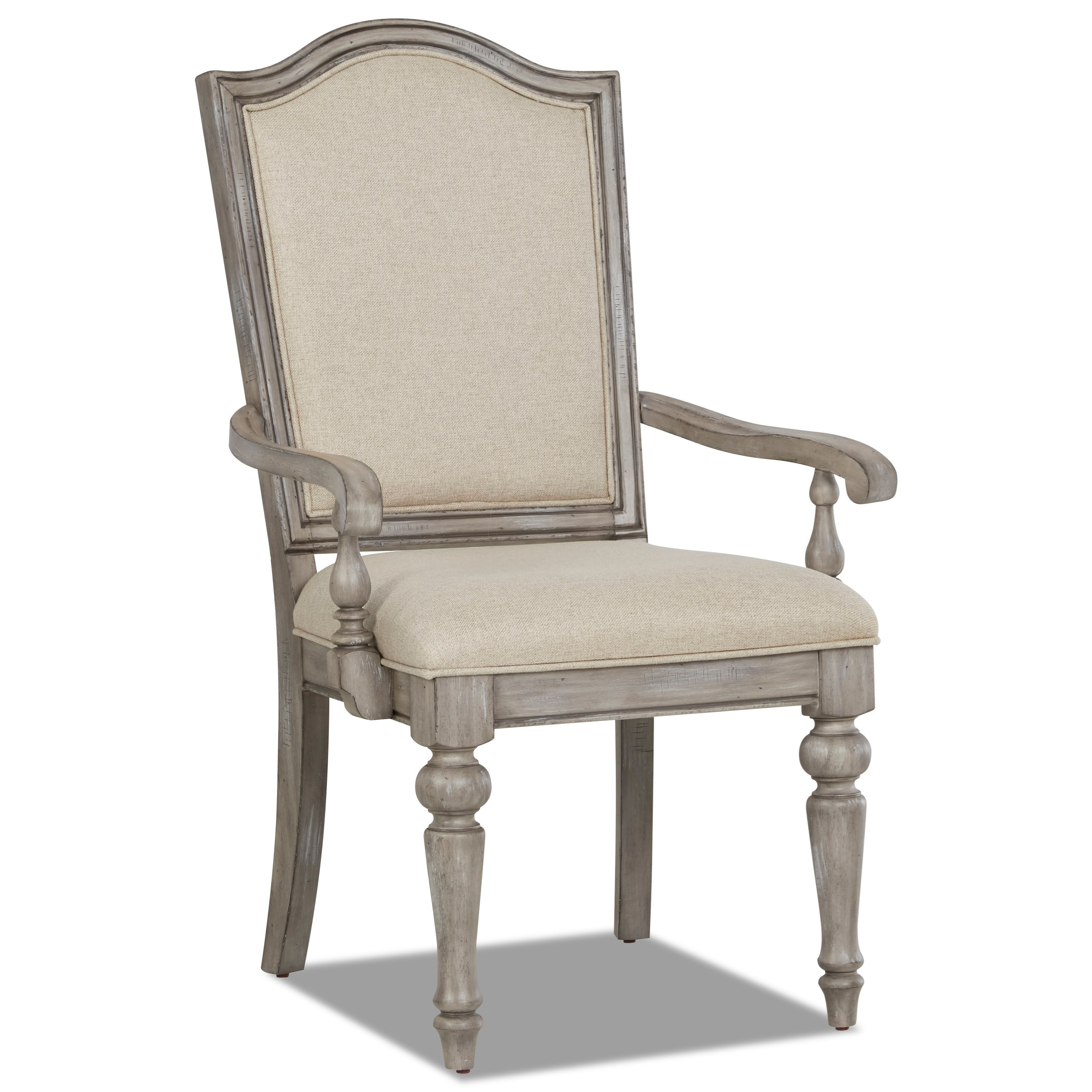 Windmere Dining Room Chair by Klaussner International at Darvin Furniture