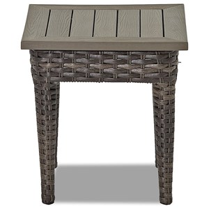 Square Outdoor Accent Table