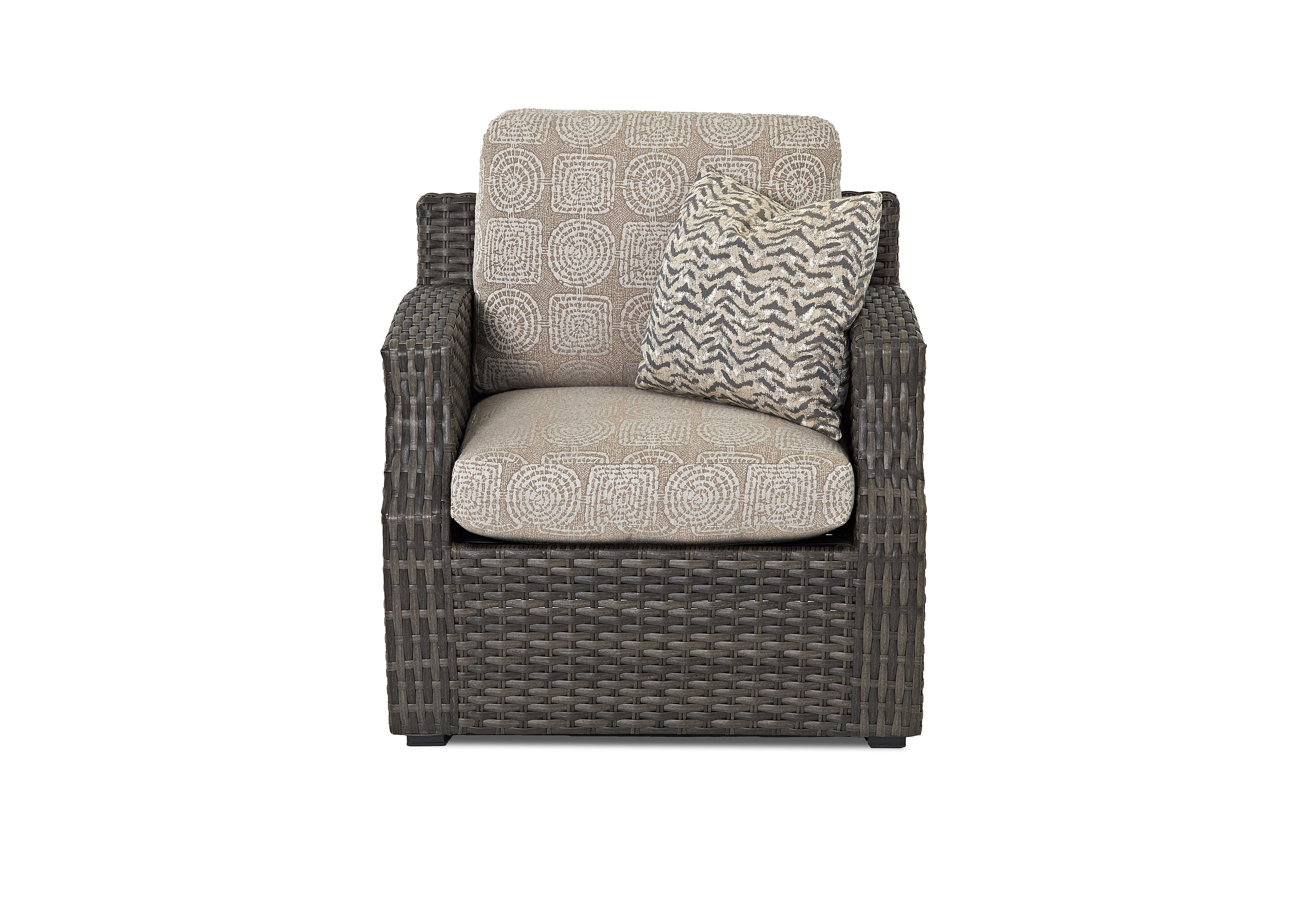 Cascade Outdoor Chair by Klaussner Outdoor at Fine Home Furnishings
