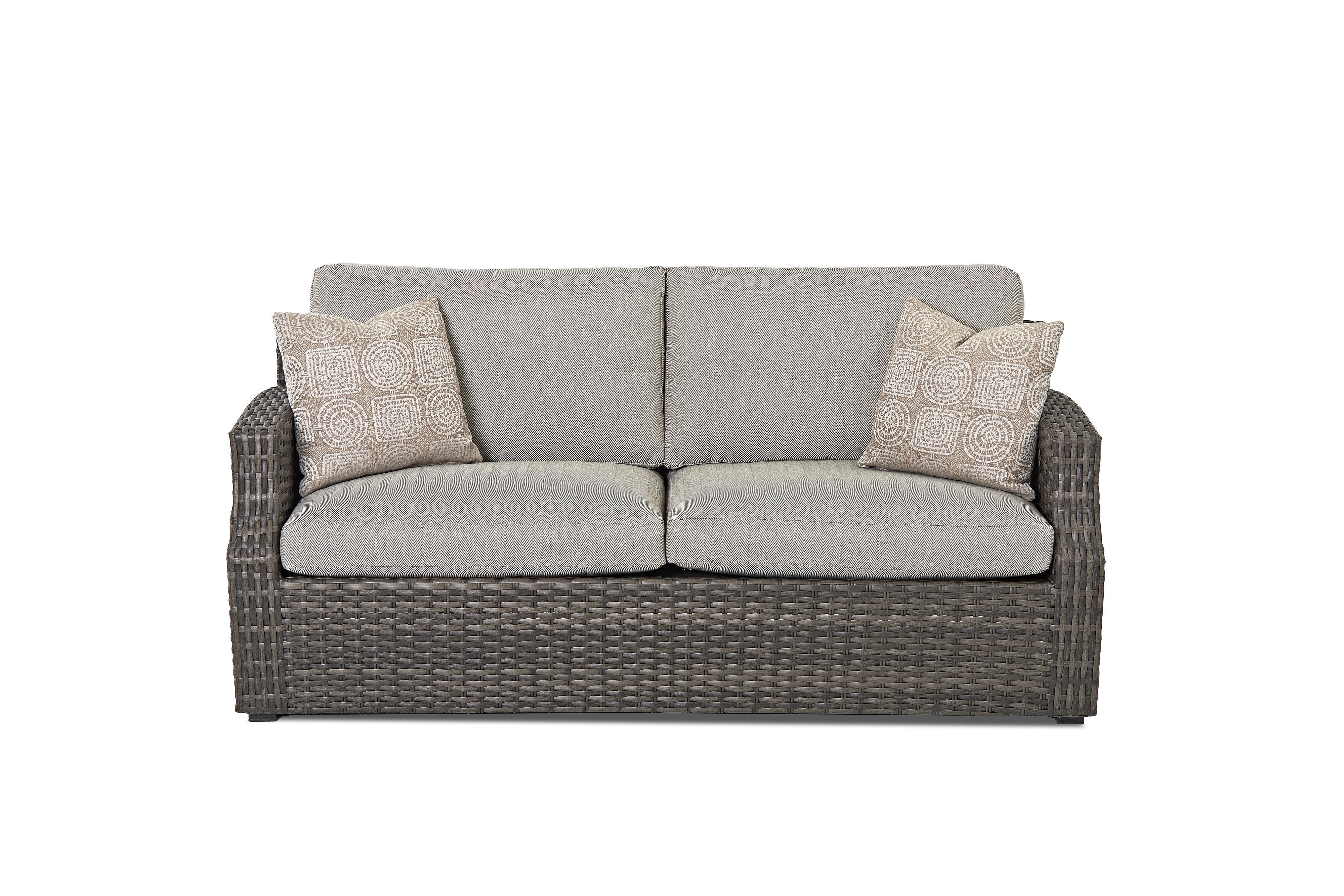 Cascade Outdoor Sofa by Klaussner Outdoor at Nassau Furniture and Mattress