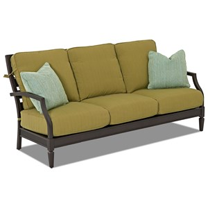 Sofa with Drainable Cushions