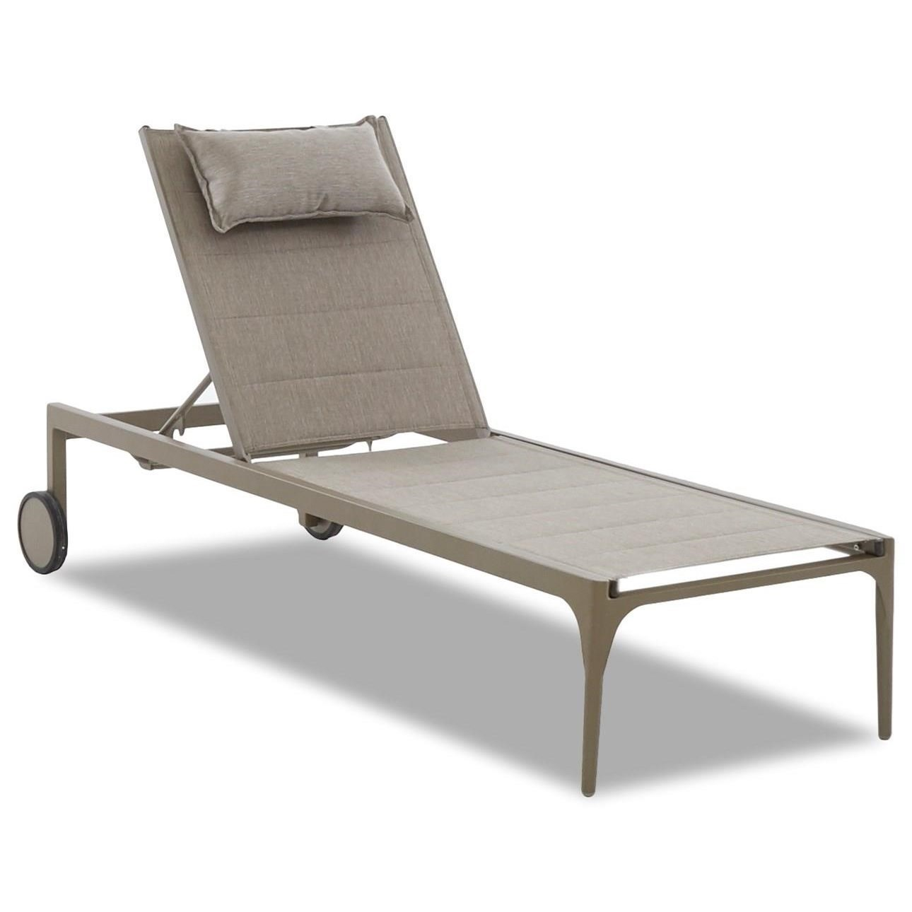 Urban Retreat Chaise Lounge by Klaussner Outdoor at Hudson's Furniture