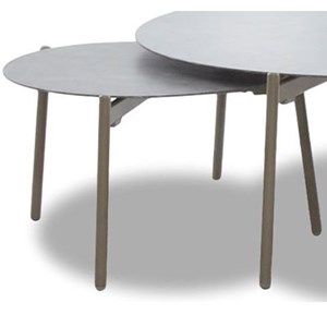 Contemporary Large Round Outdoor Accent table