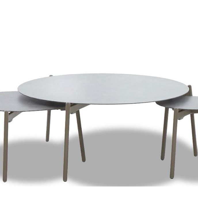 Urban Retreat Outdoor Round Cocktail Table by Belfort Outdoor at Belfort Furniture