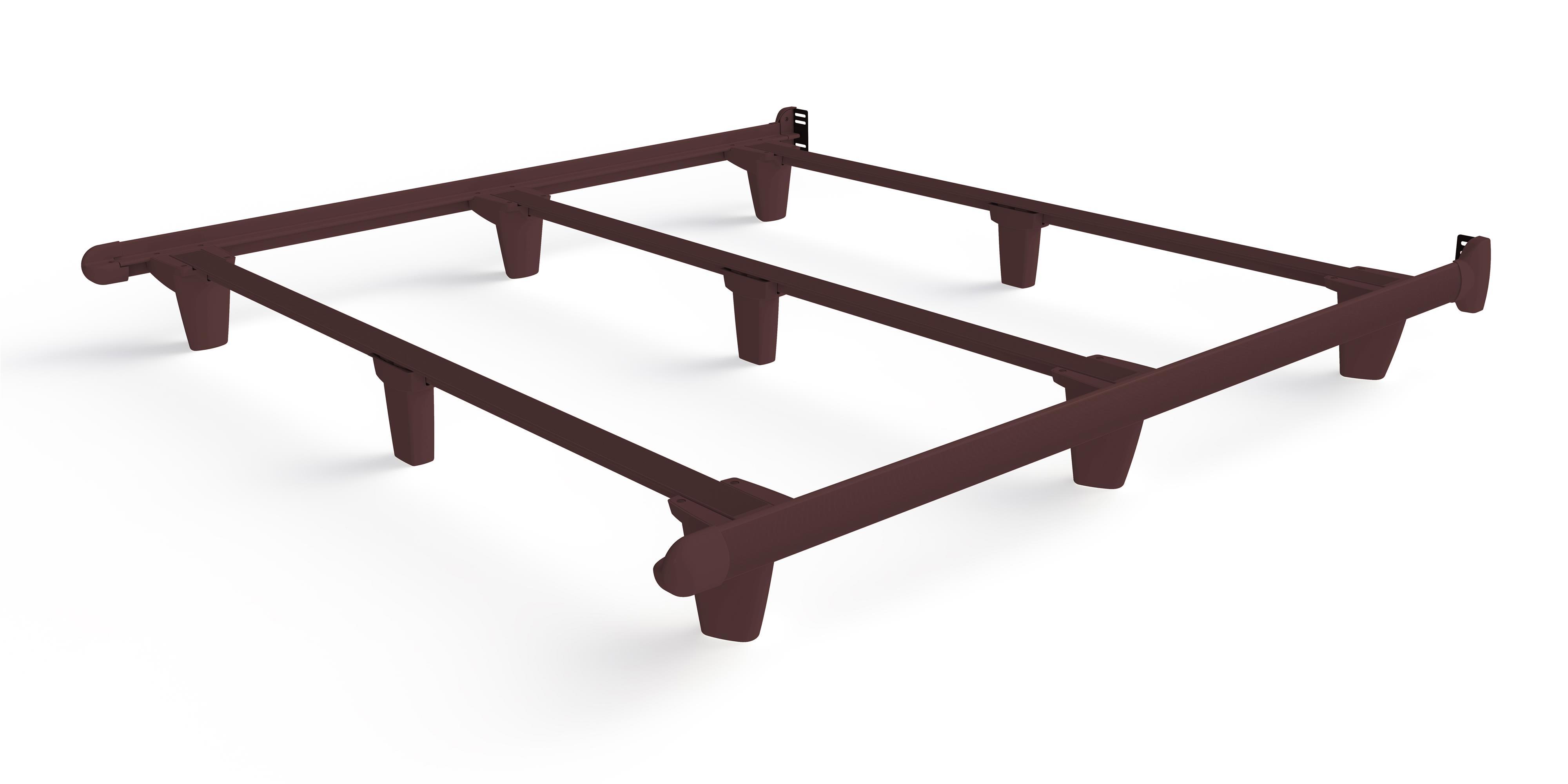 Embrace emBrace Eastern King Bed Frame - Brown by Knickerbocker at HomeWorld Furniture