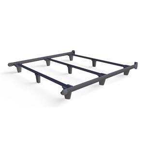 emBrace Eastern King Bed Frame - Grey