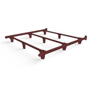 emBrace Eastern King Bed Frame - Red