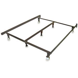 Heavy Duty Adjustable Bed Frame, fits T, TXL, F, Q, K, CK
