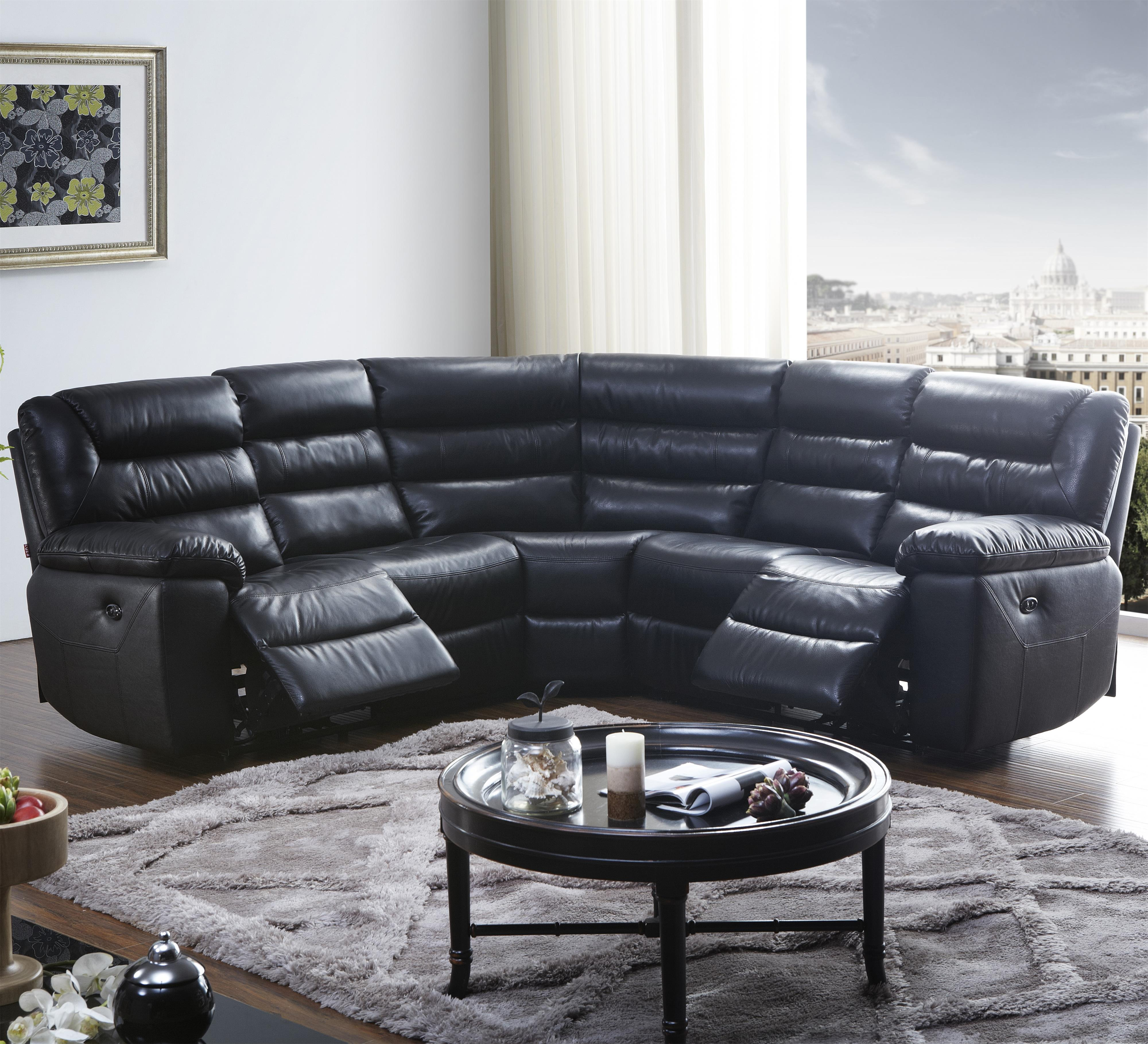1711 5 Pc Reclining Sectional Sofa at Becker Furniture