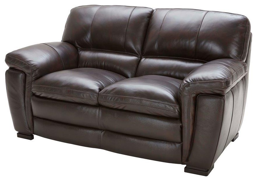 Avalon Leather Loveseat by K.C. at Walker's Furniture