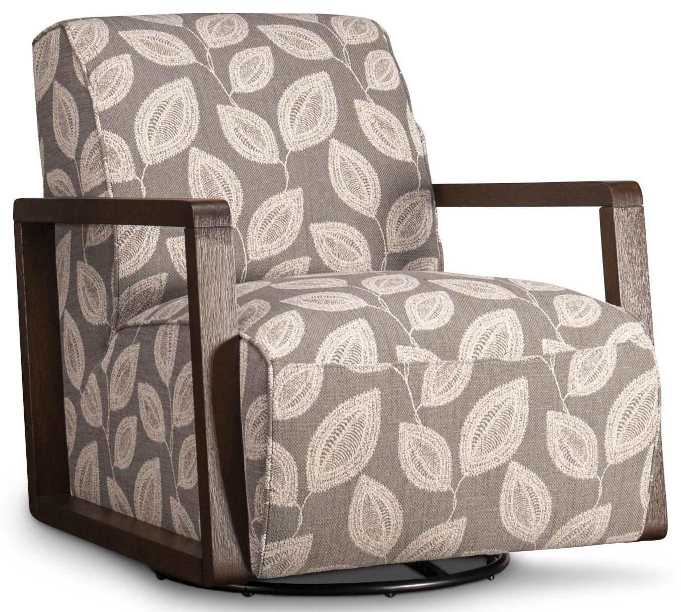 Kearny Kearny Swivel Chair by Kuka Home at Morris Home
