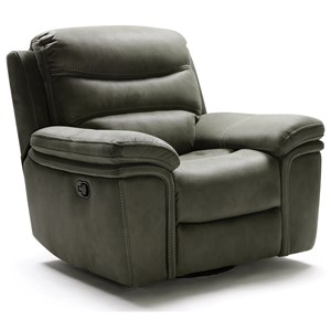 Casual Swivel Glider Recliner