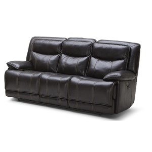 Casual Reclining Sofa w/ Three Recliners