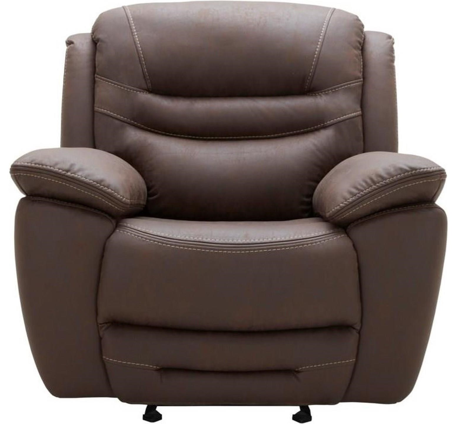 Shaffer Casual Glider Recliner by K.C. at Walker's Furniture