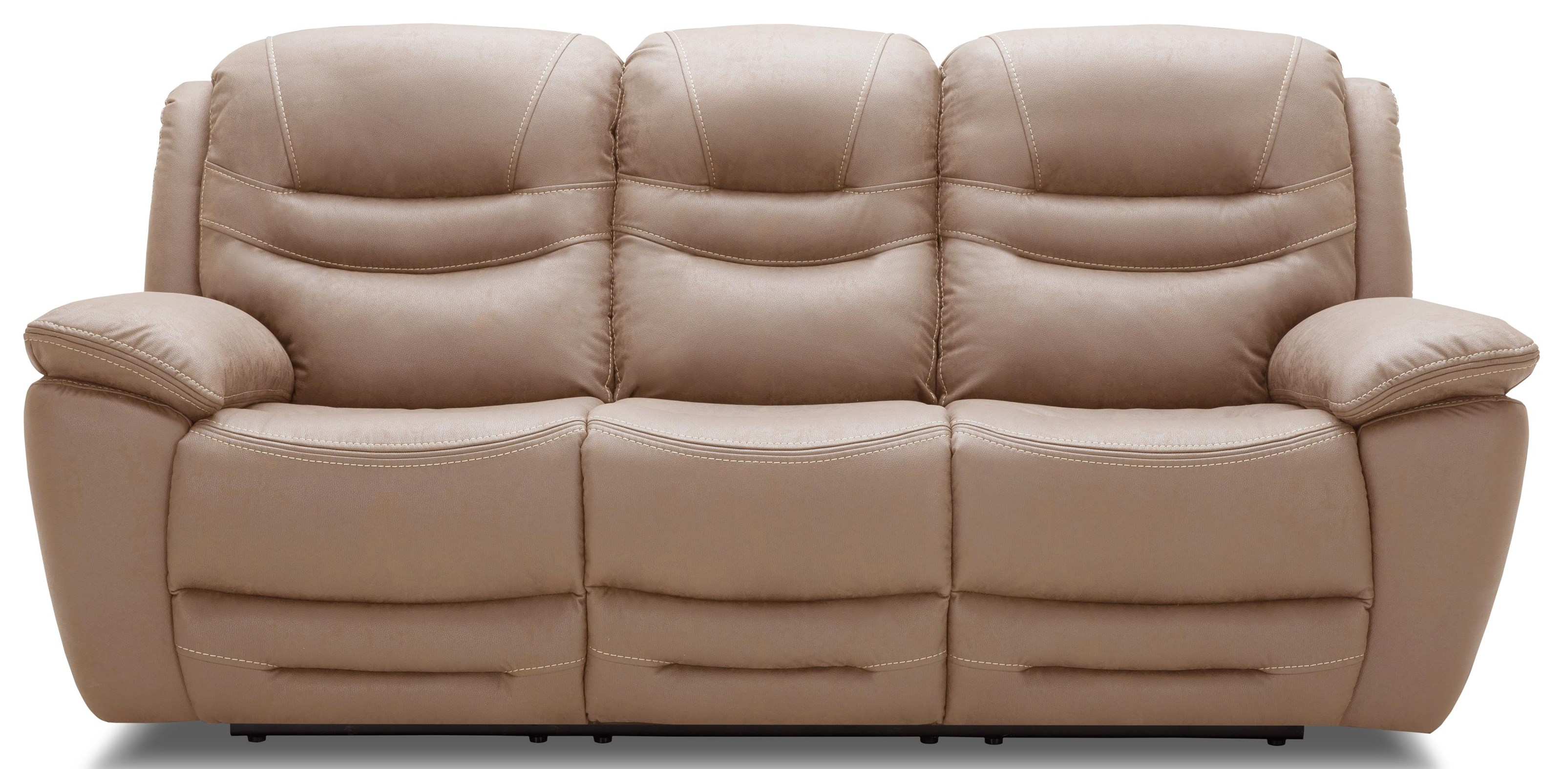 KM083 Reclining Sofa by Kuka Home at Beck's Furniture