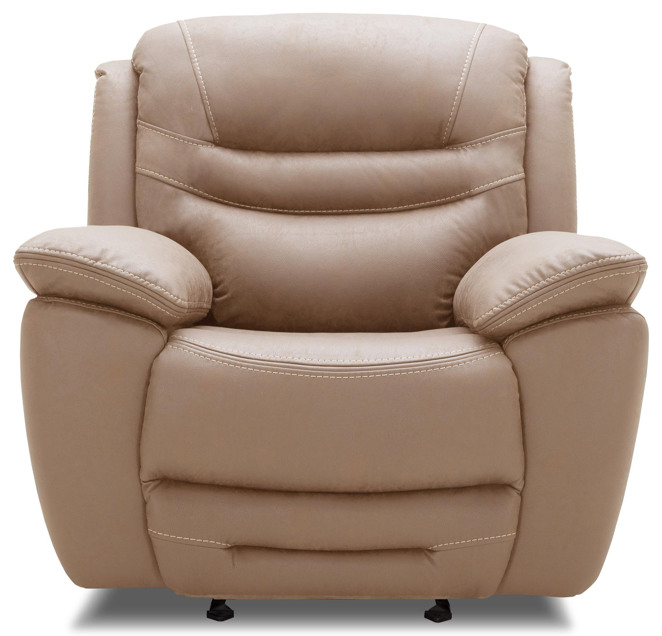 KM083 Power Glider Recliner w/ Pwr Headrest by Kuka Home at Beck's Furniture