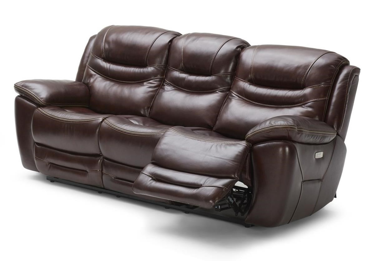 KM083 Power Reclining Sofa w/ Pwr Head and USB by Kuka Home at Beck's Furniture