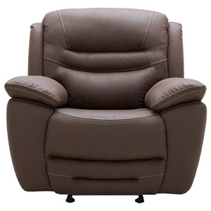 Casual Power Glider Recliner with Power Headrest and USB Charging Port