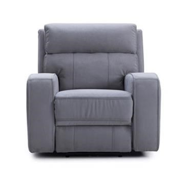KM132 Power Recliner w/ Pwr Headrest by Kuka Home at Beck's Furniture