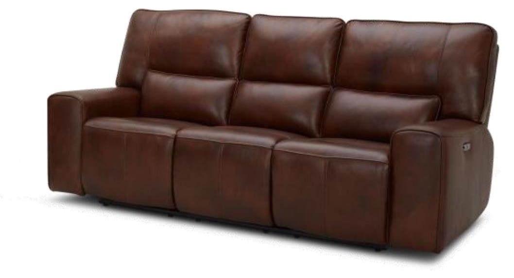 KM596HM Power Reclining Sofa w/ PWR Head and USB by Kuka Home at Beck's Furniture