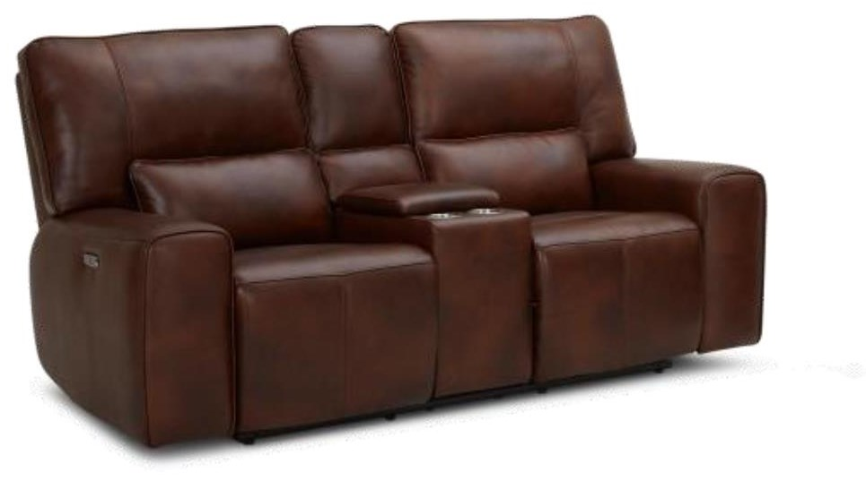 KM596HM Power Reclining Loveseat w/ Cupholder by Kuka Home at Beck's Furniture