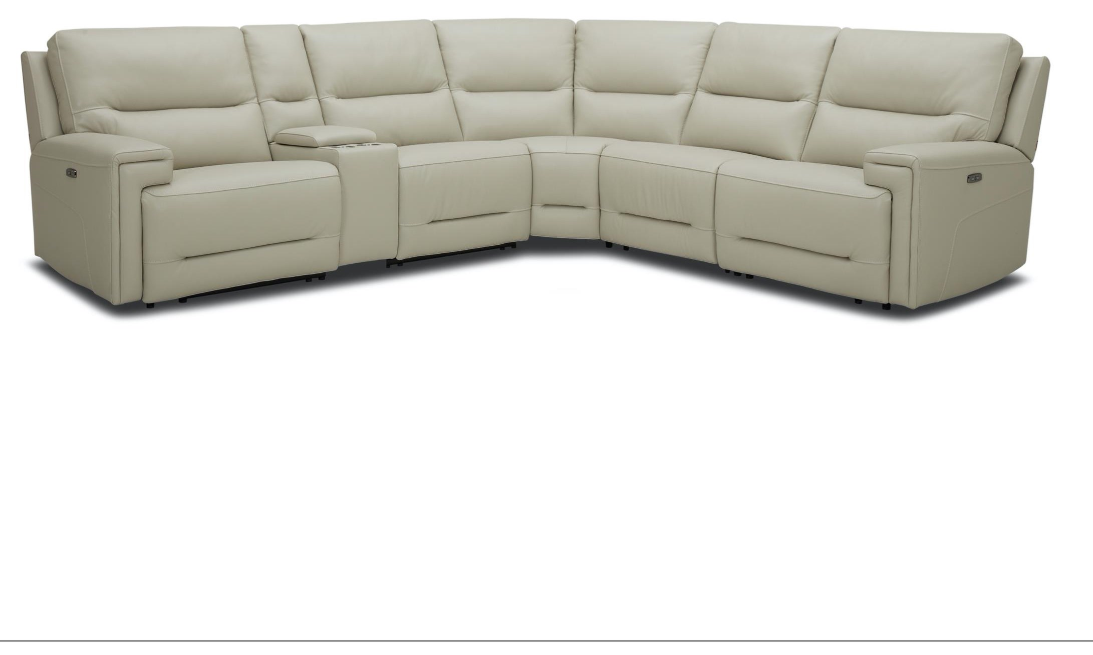 KM612 6-Piece Power Reclining Sectional Sofa by Kuka Home at Beck's Furniture
