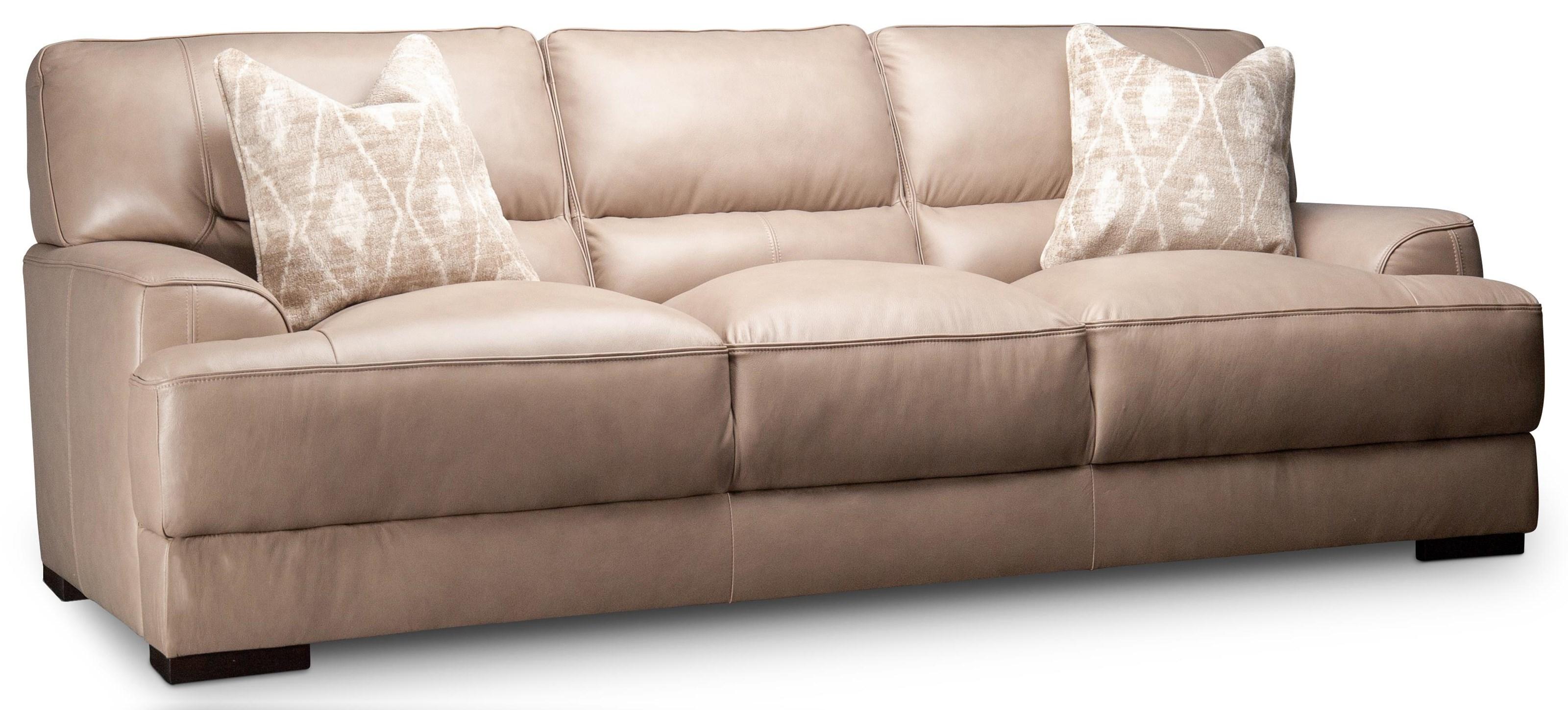 Winnett Winnett Leather Sofa by Kuka Home at Morris Home