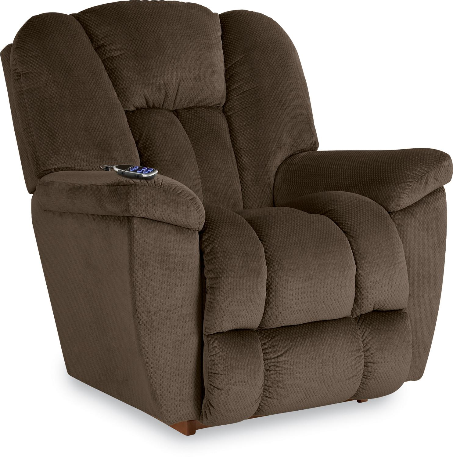Maverick-582 Power Wall Recliner w/ Headrest & Lumbar by La-Z-Boy at Lindy's Furniture Company