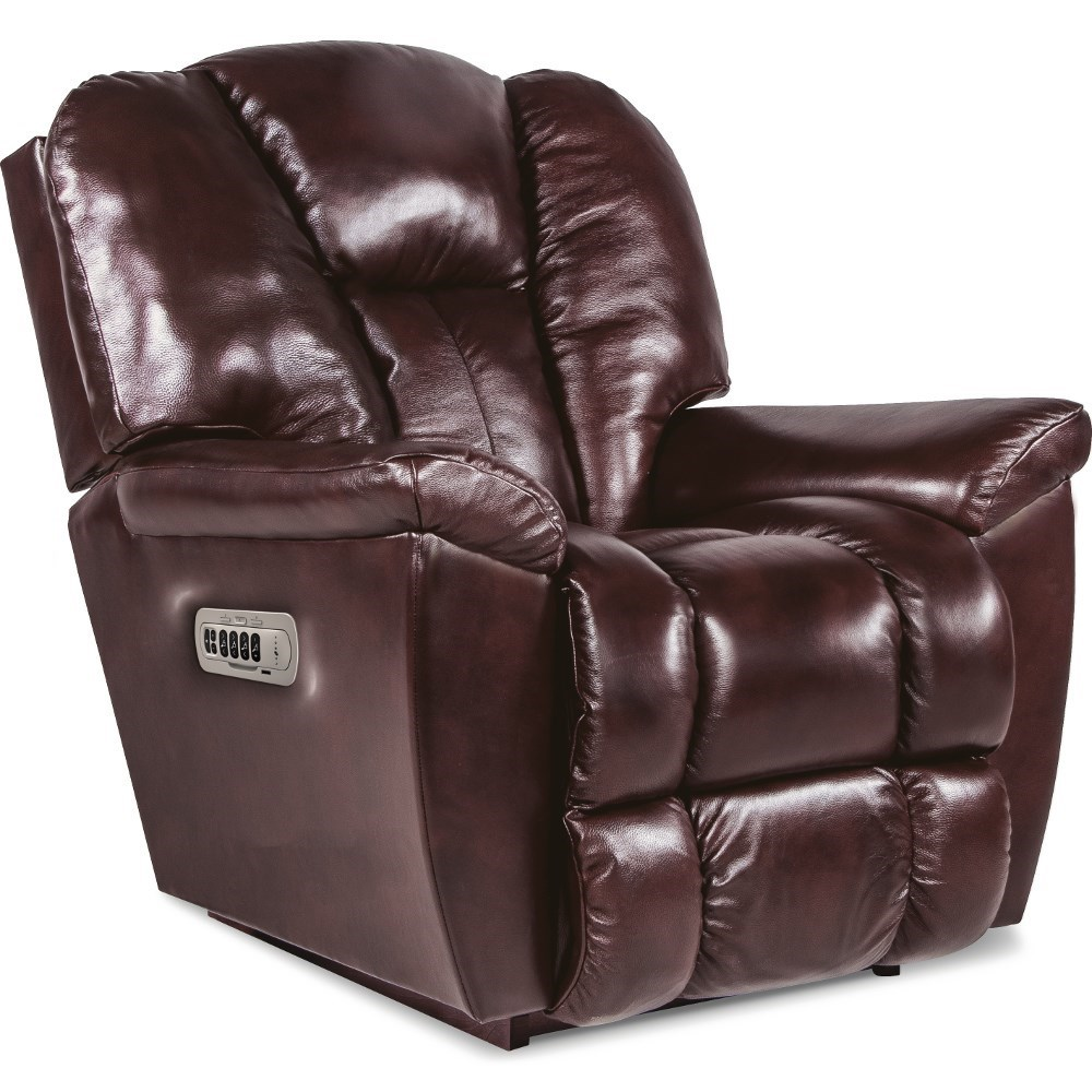 Maverick-582 Power Rocking Recliner w/ Headrest & Lumbar by La-Z-Boy at Lynn's Furniture & Mattress