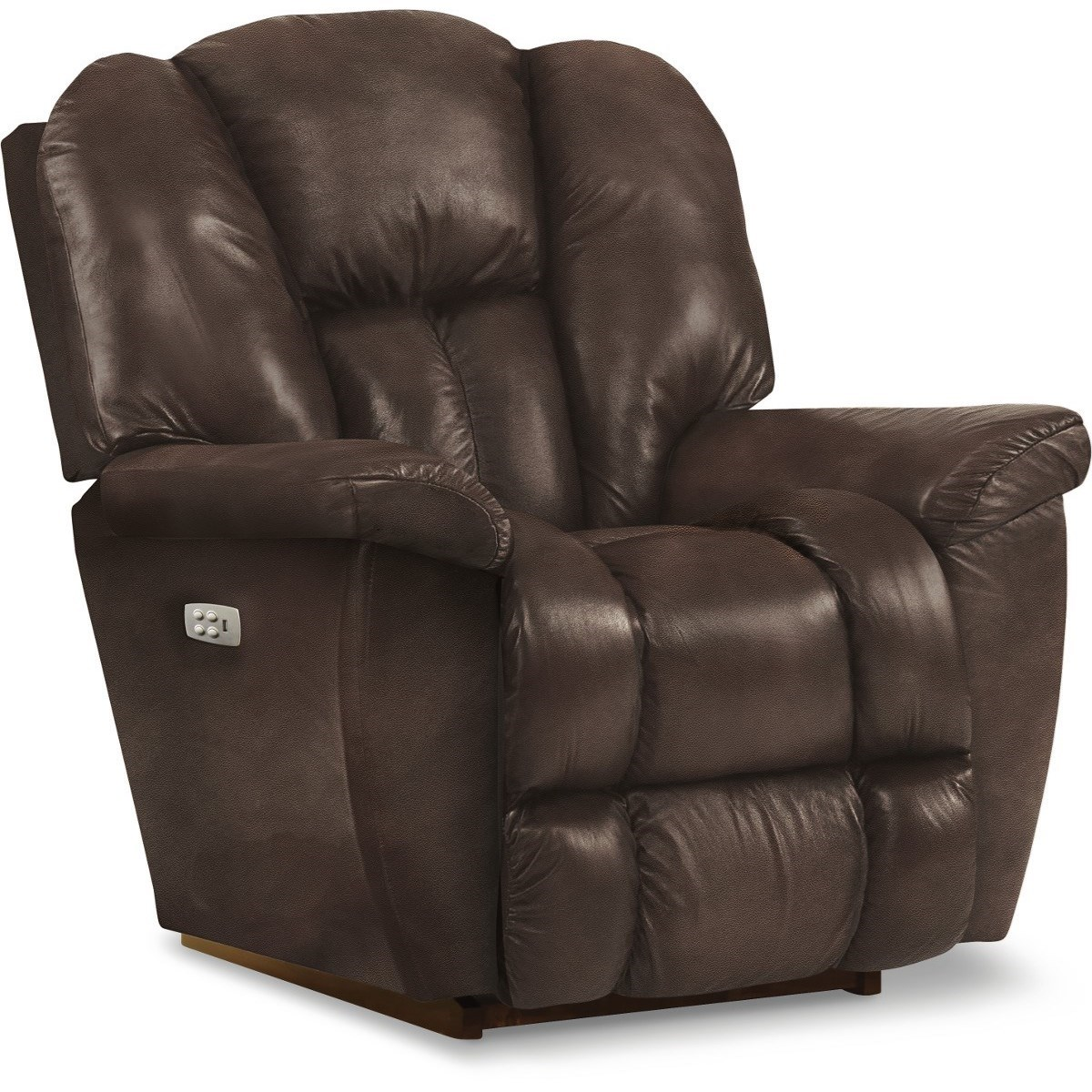 Maverick-582 Power Rocking Recliner w/ Headrest by La-Z-Boy at Lindy's Furniture Company