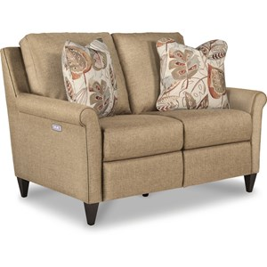 Power Reclining Loveseat with USB Ports