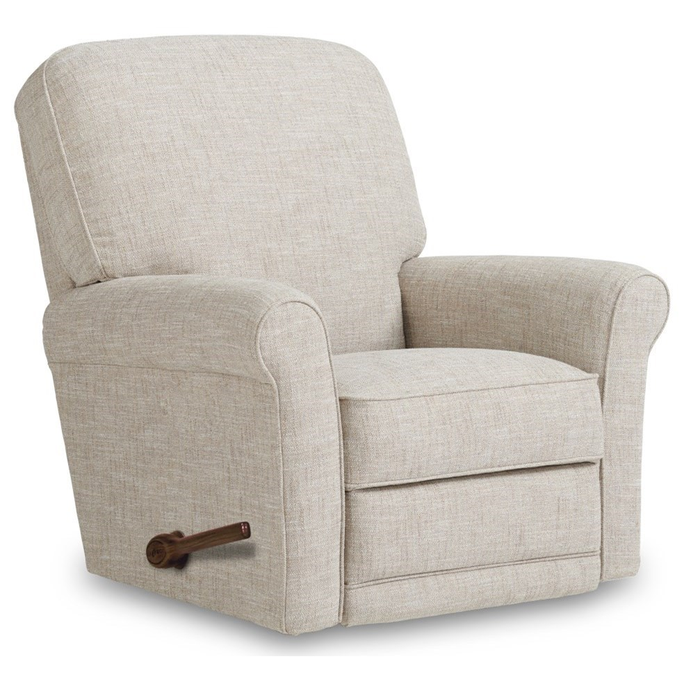 Addison Swivel Gliding Recliner by La-Z-Boy at Bennett's Furniture and Mattresses