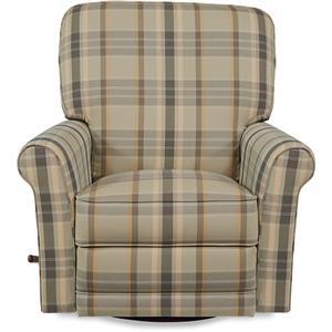 Transitional Swivel Glider Recliner