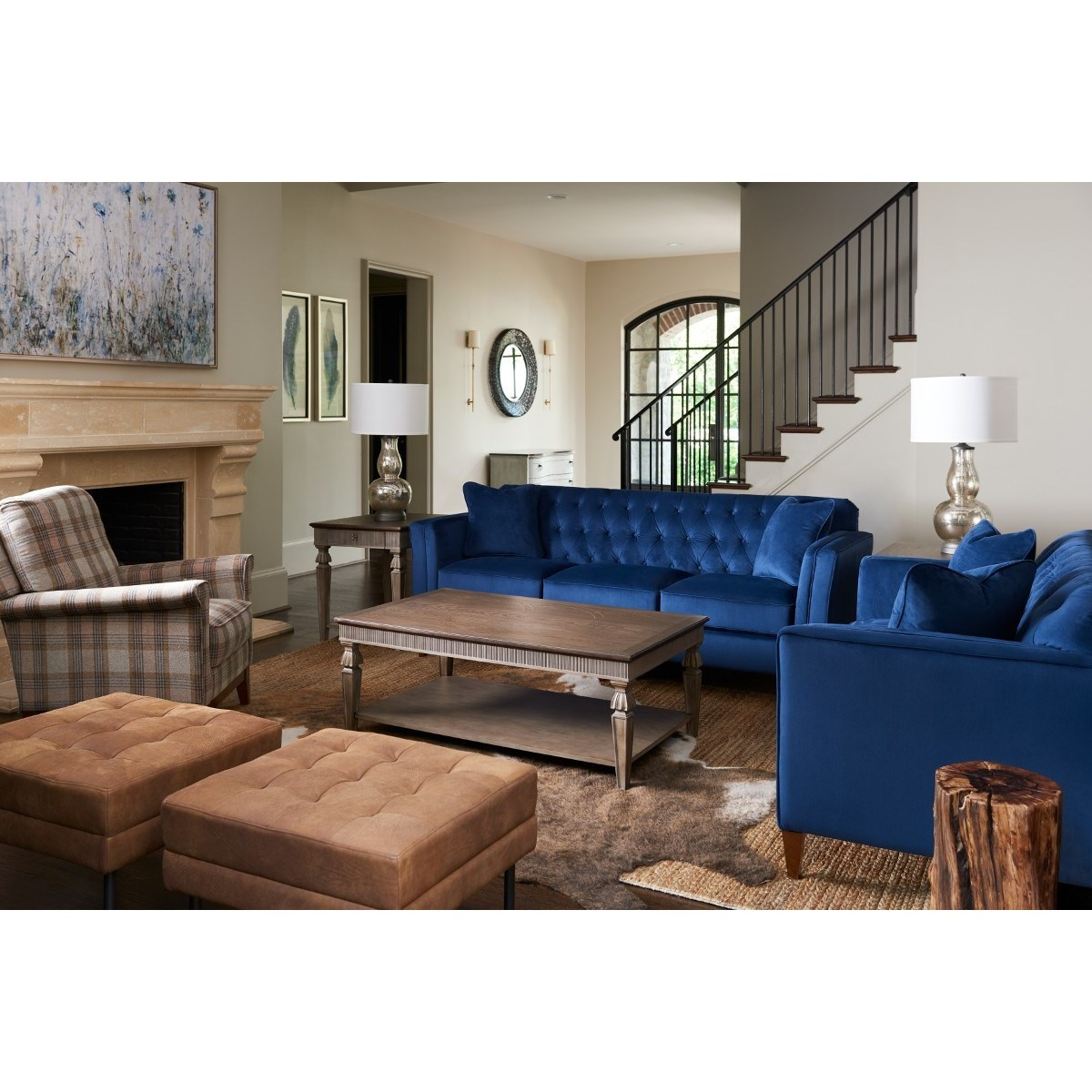 Alexandria Stationary Living Room Group by La-Z-Boy at Sparks HomeStore