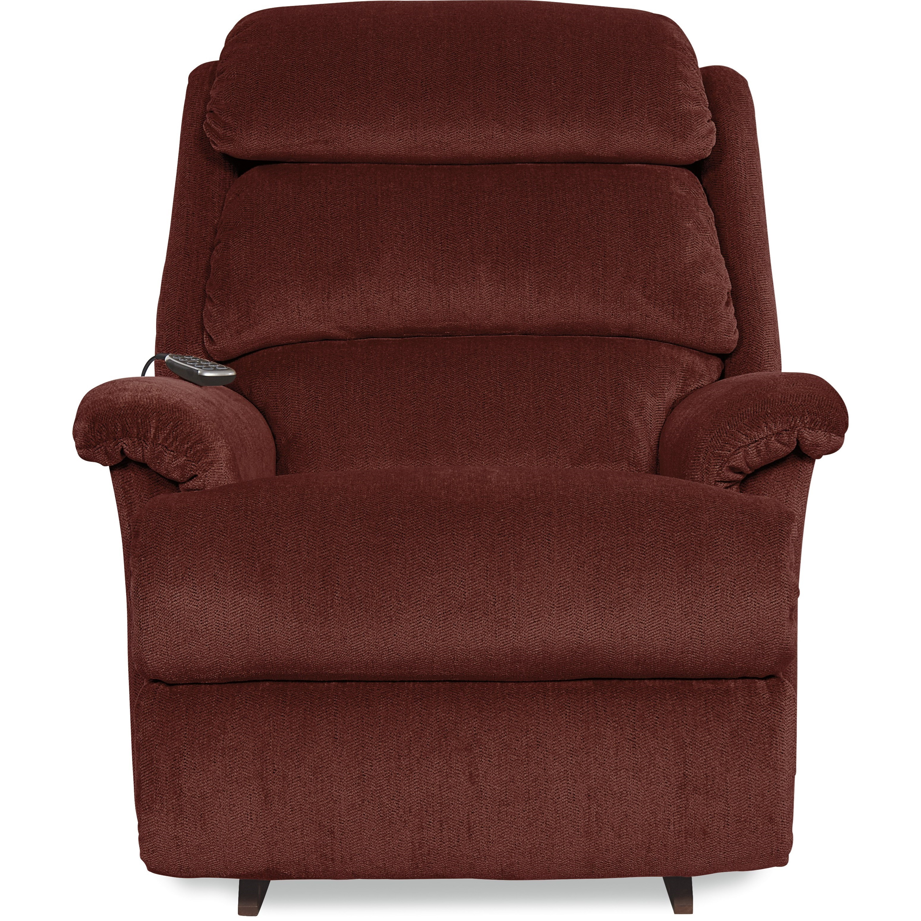 Astor Power Rocking Recliner w/ Headrest by La-Z-Boy at Home Furnishings Direct