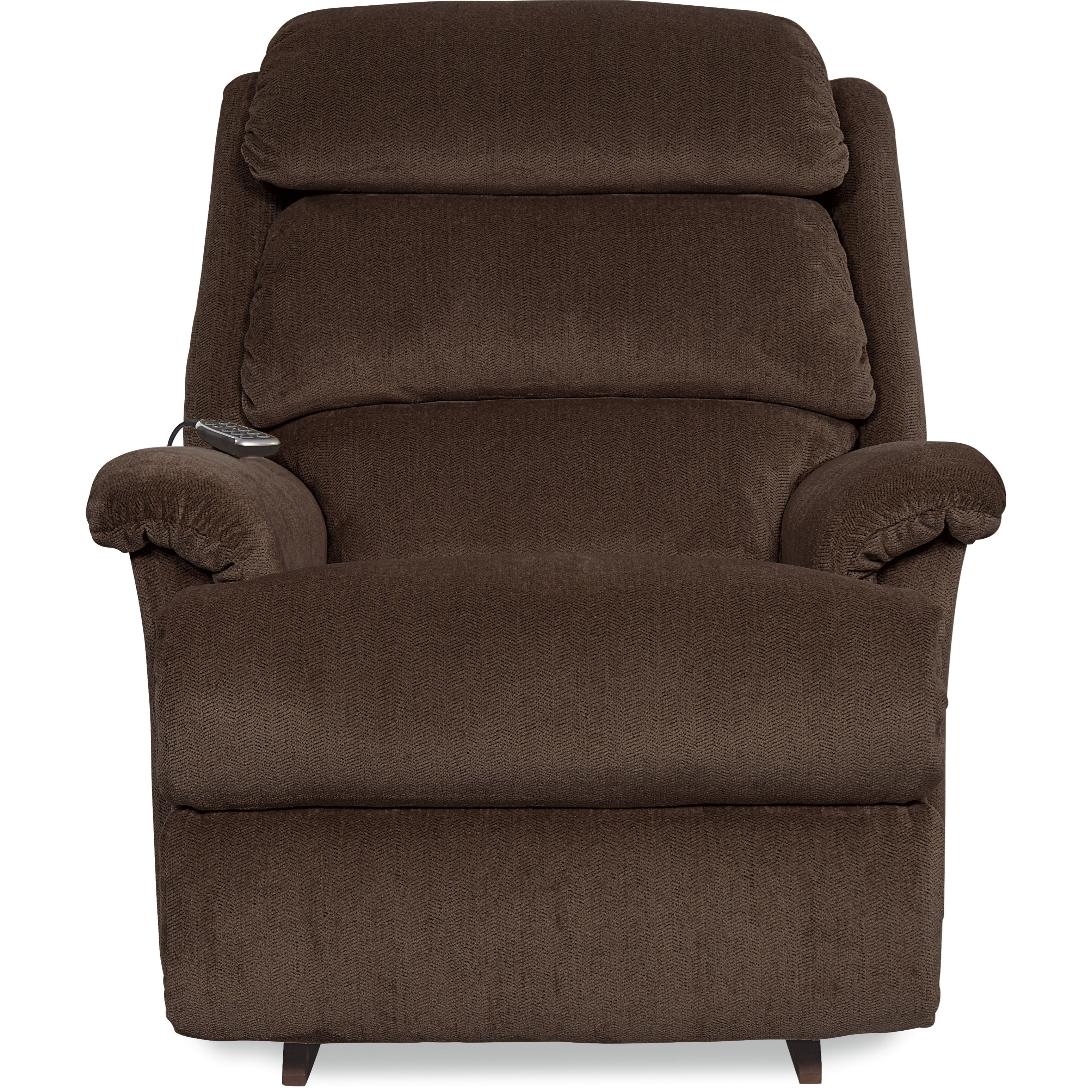Astor Power Rocking Recliner w/ Headrest & Lumbar by La-Z-Boy at Fisher Home Furnishings
