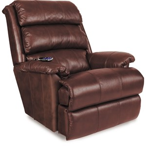 PowerReclineXR+ RECLINA-ROCKER®Recliner with Channel-Tufted Back